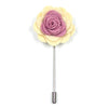 Floral Rose Cream Lapel Pin