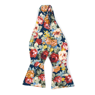 Bow Tie - Floral Rose Meadow Bow Tie