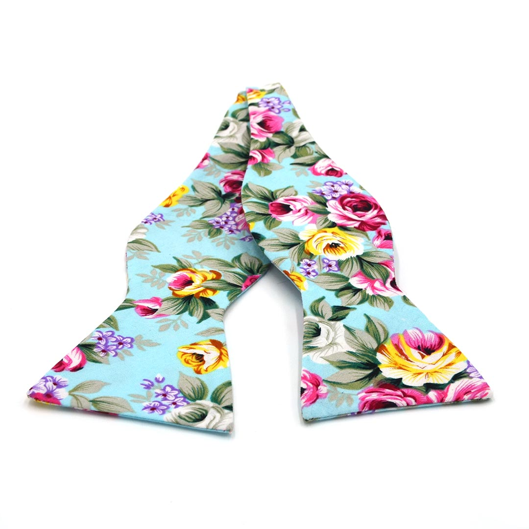 Floral Trade Wind Bow Tie