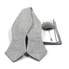 Fossil Grey Bow Tie Set