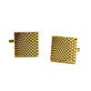 Gold Block Cufflinks