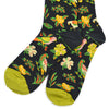 Hawaiian Grey Men's Socks