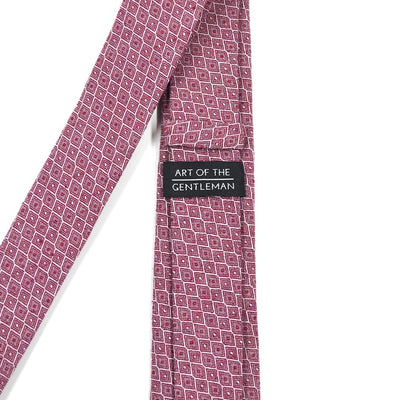 Honeycomb Royal Red Tie