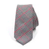 Tie - Houndstooth Black and White Tie
