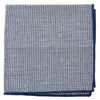 Houndstooth Navy Pocket Square