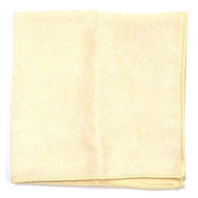 Solid Ivory Pocket Square