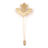 Gold Maple Leaf Lapel Pin