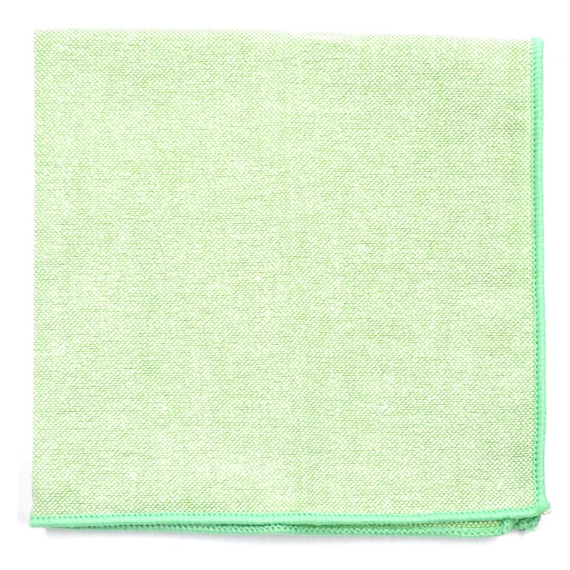 Pocket Square - Solid Pastel Lime Pocket Square