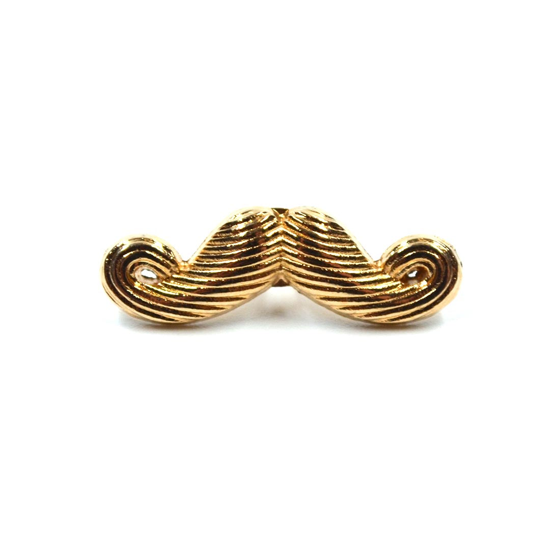 Lapel Pin - Mustache Gold