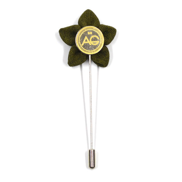 Lapel Pin - Wildflower OD