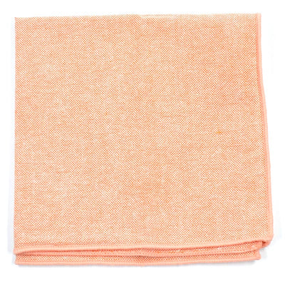 Pocket Square - Solid Orange Pocket Square