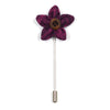Lapel Pin - Wild Flower Boysenberry