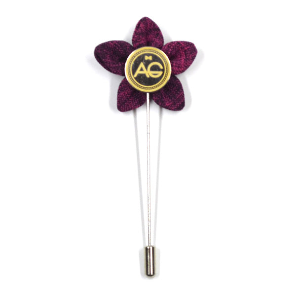 Wildflower Boysenberry Lapel Pin