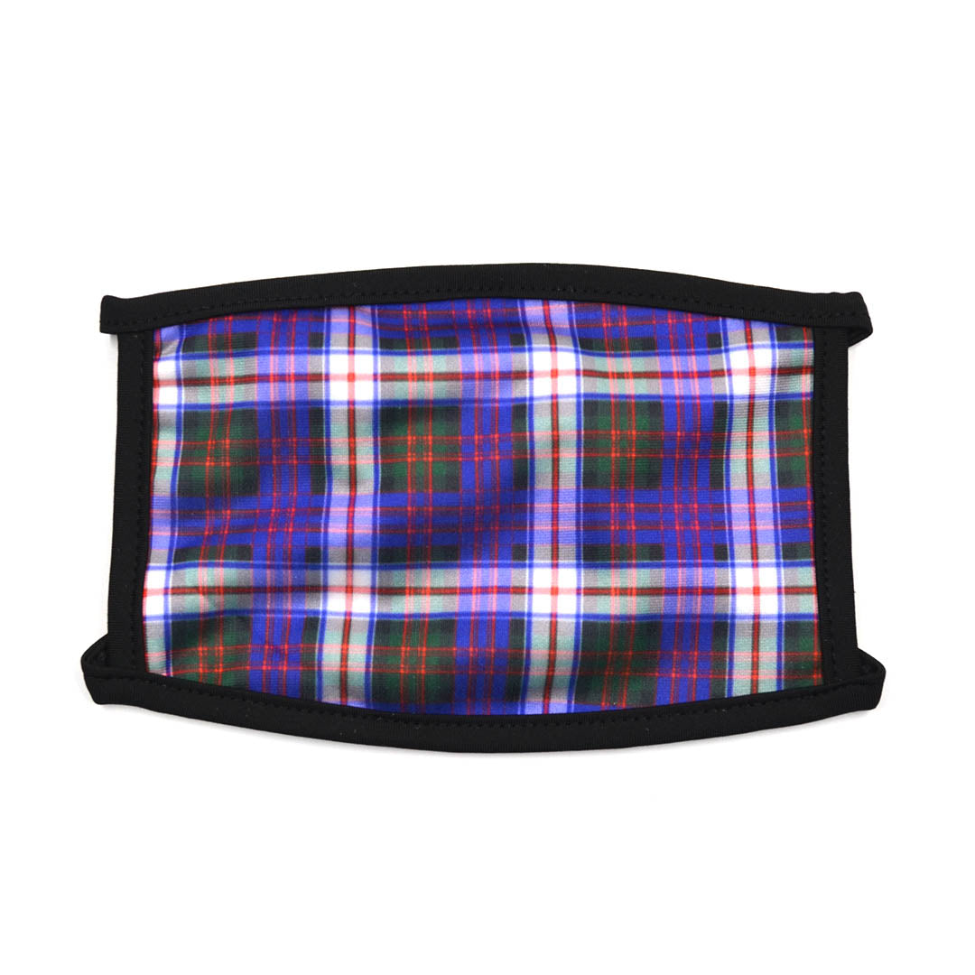 Plaid Purple Face Mask