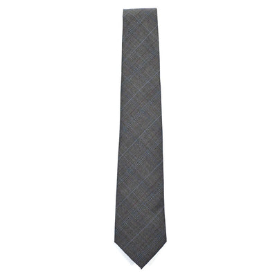 Plaid Grey Tie