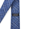 Plaid Blue Tie