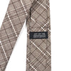 Plaid Brown Tie