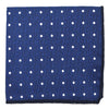 Polka Dot Ocean Blue Pocket Square
