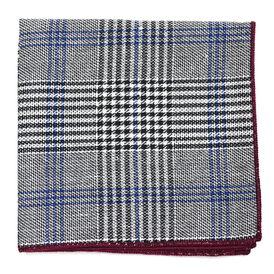 Prince Of Wales Pocket Square