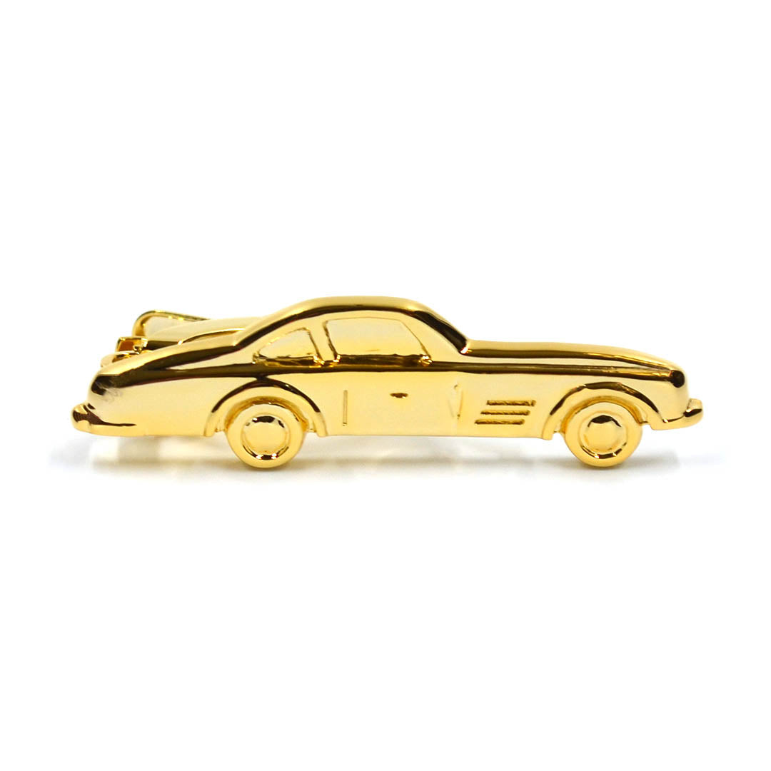 Race Car Gold Tie Bar