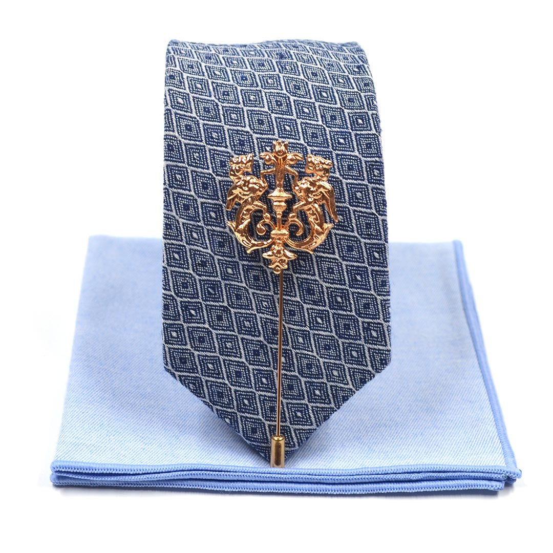 Tie Set - Royal Blue Tie Set