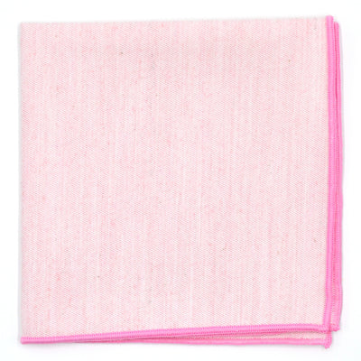 Pastel Pink Pocket Square
