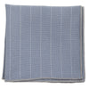Striped Grey Pocket Square