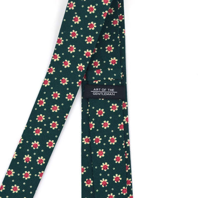 Sunflower Juniper Green Tie