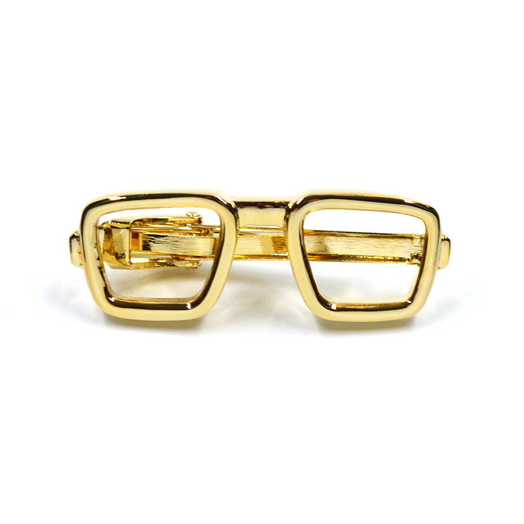 Sunglasses Gold Tie Bar