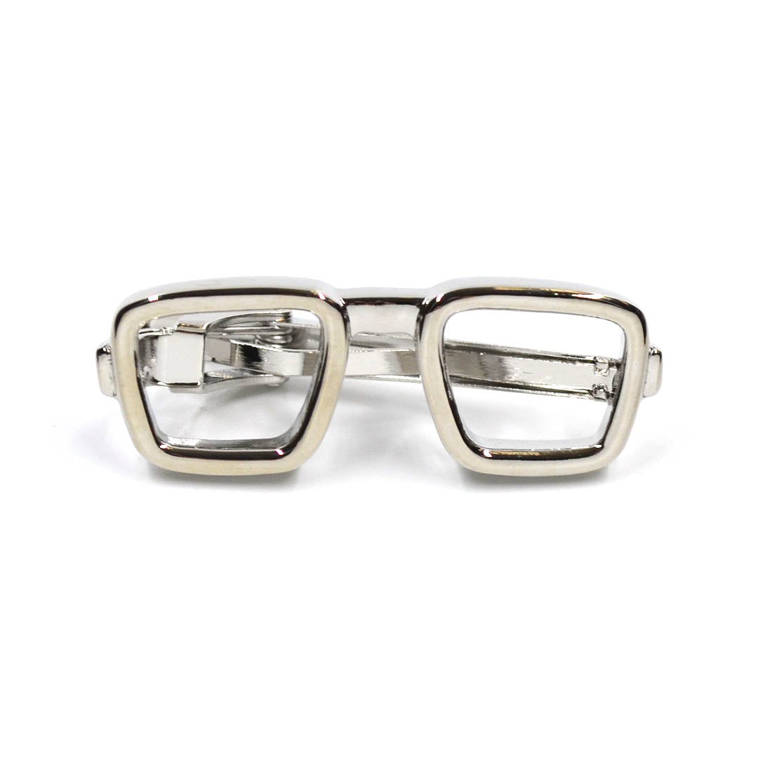 Sunglasses Tie Bar Silver