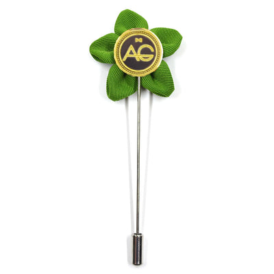 Lapel Pin - Wildflower Green