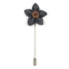 Lapel Pin - Wildflower Steel