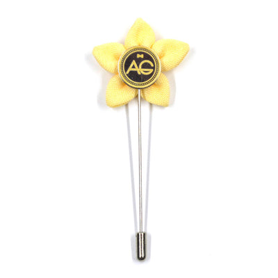 Lapel Pin - Wildflower Lemon