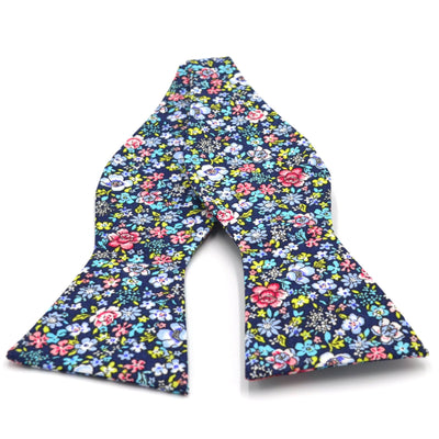 Bow Tie - Floral Navy Bow Tie