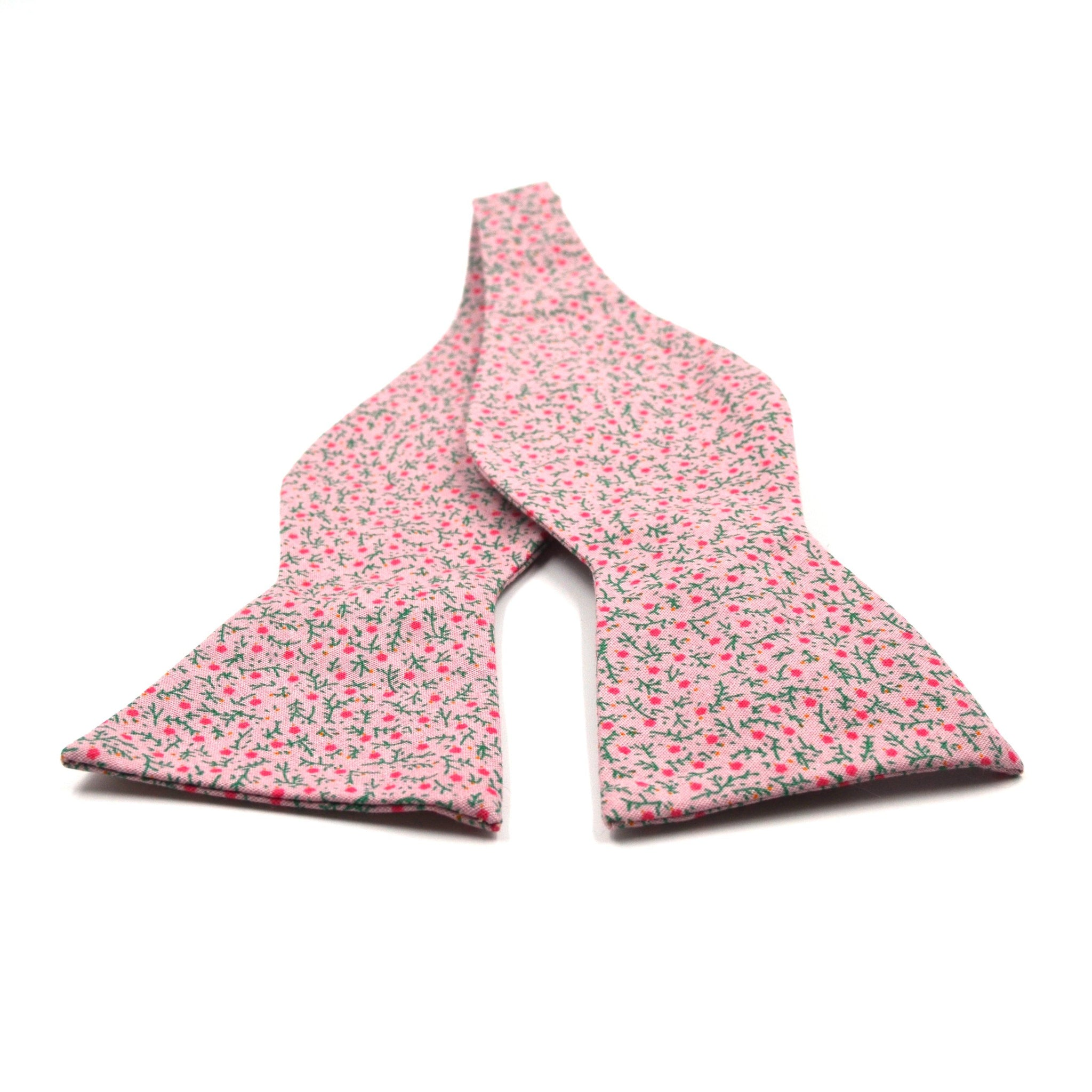 Bow Tie - Floral Strawberry Field Bow Tie