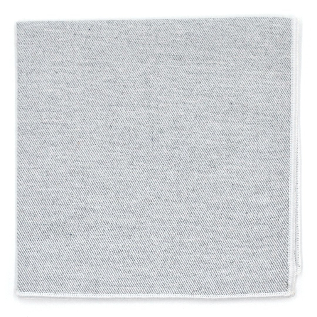 Pocket Square - Cloud Grey Pocket Square