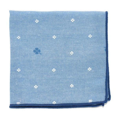 Clover Arctic Pocket Square