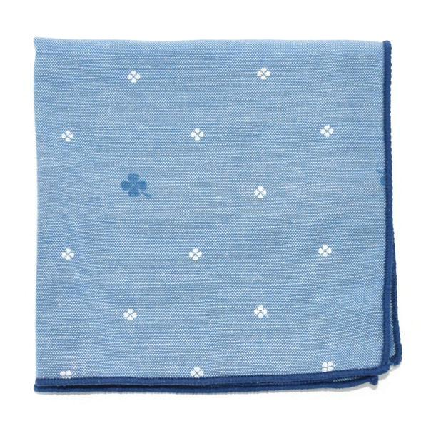 Pocket Square - Clover Arctic Pocket Square