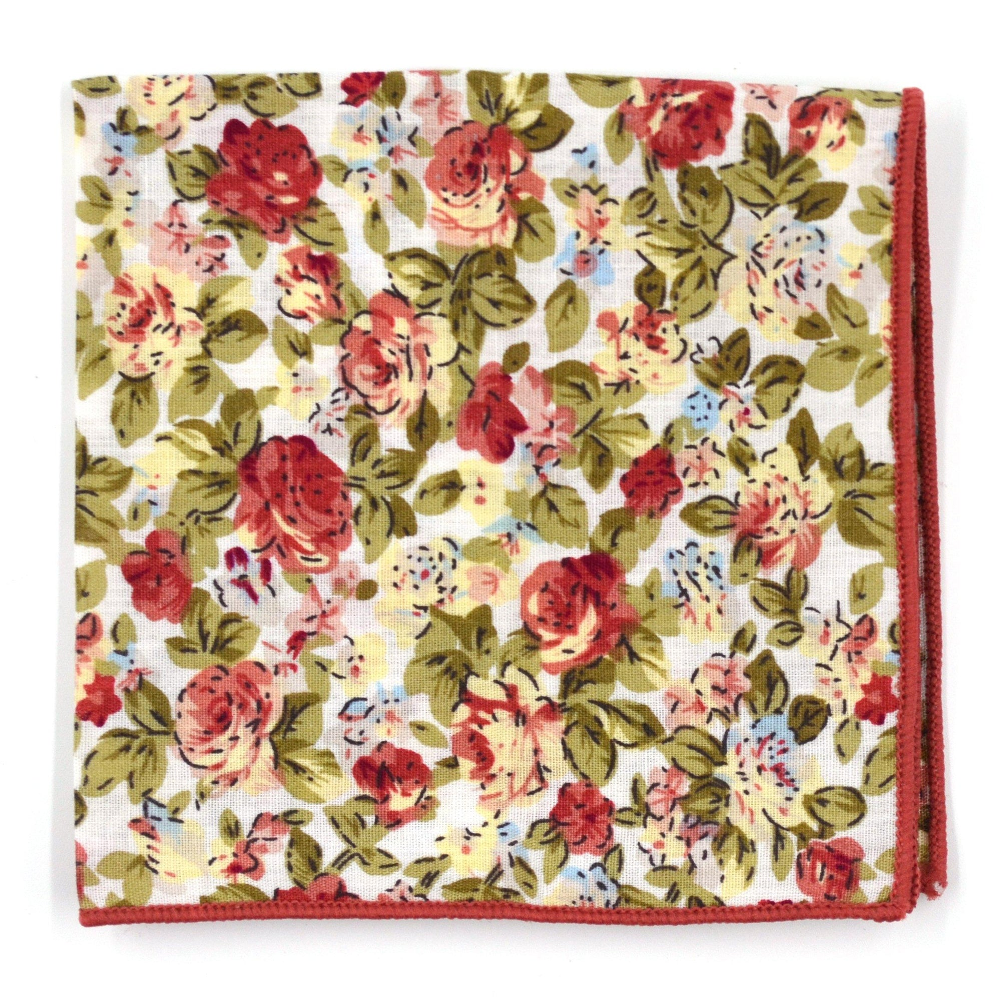 Pocket Square - Floral Camellia Pocket Square