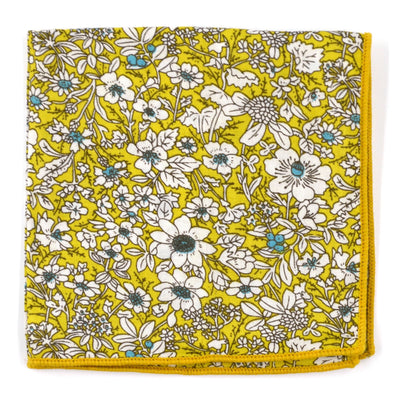 Pocket Square - Floral Pistachio Pocket Square
