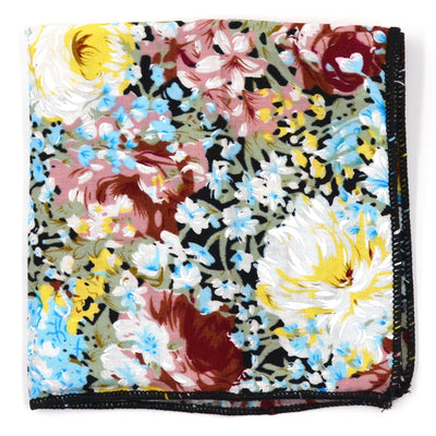 Pocket Square - Floral Zest Pocket Square