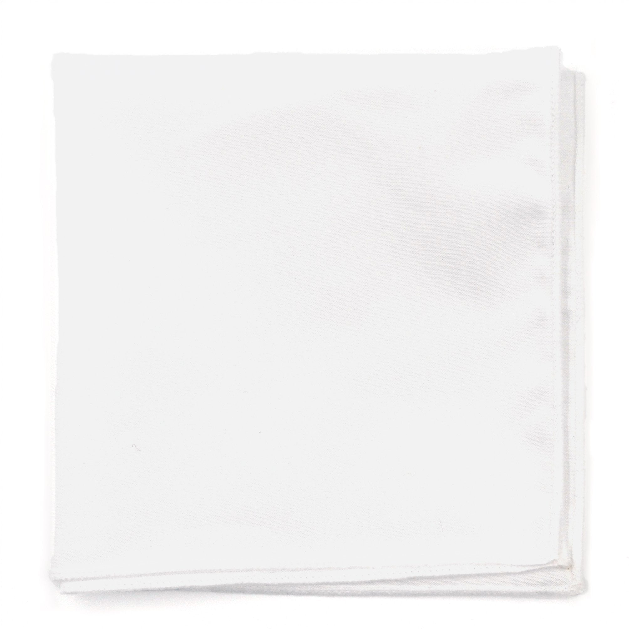 Pocket Square - White Border Pocket Square