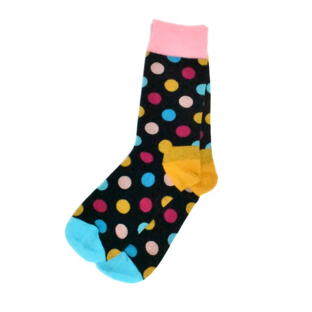 Socks - Cotton Candy Polka Dot Men's Socks