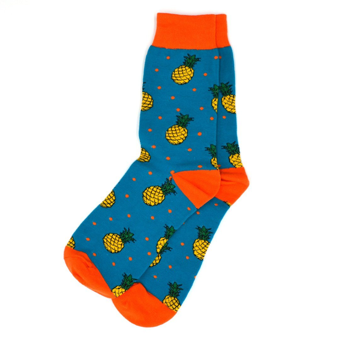 Socks - Pineapple Polka Dot Men's Socks
