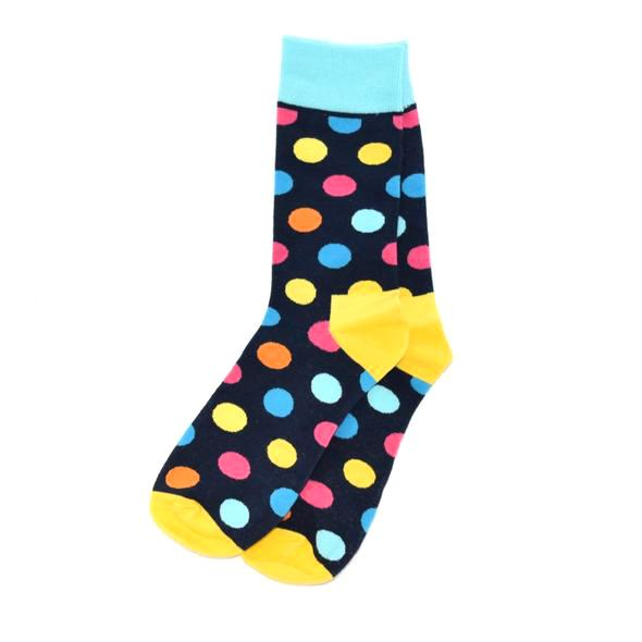 Socks - Polka Dot Dark Navy Men's Socks