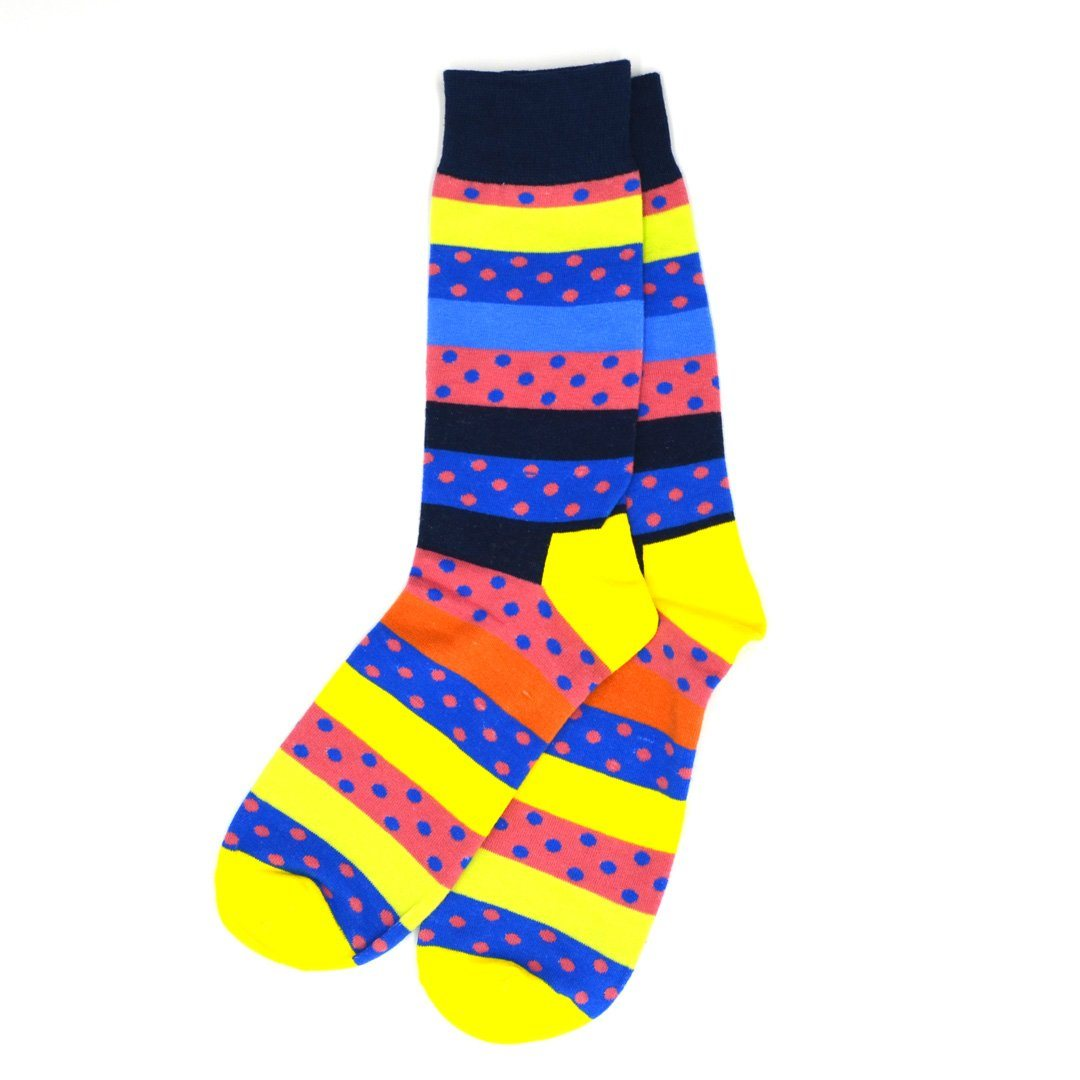 Socks - Polka Dot Highlight Men's Socks