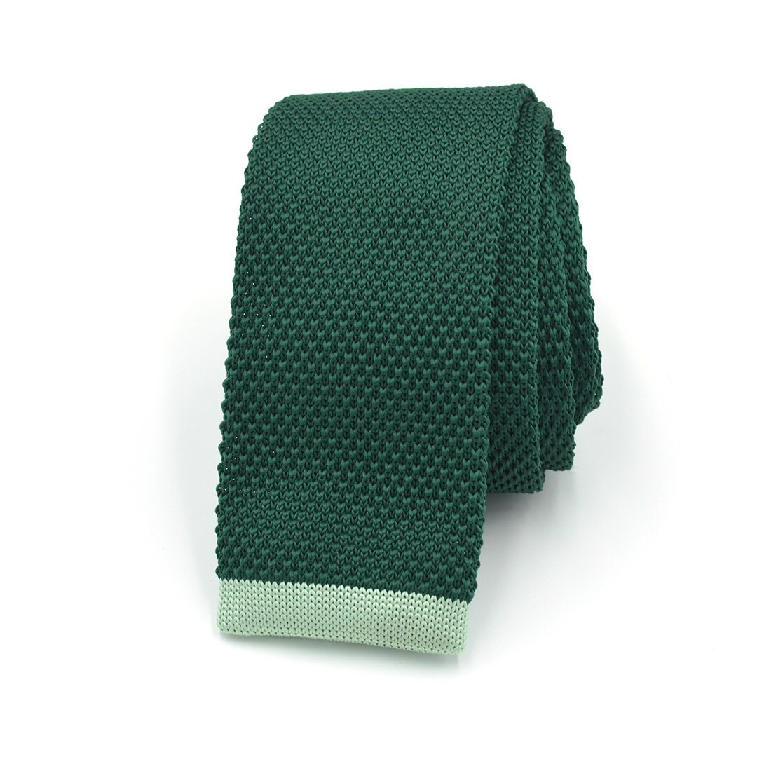 Tie - Knitted Green Apple Taffy Tie
