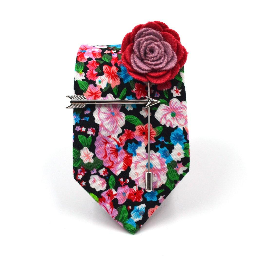 Tie Set - Floral Cotton Candy Tie Set