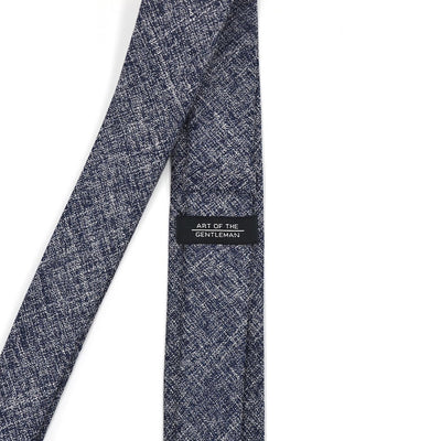 Tie Set - Linen Royal Blue Tie Set