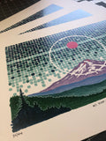 """Mt. Hood: Sun in Taurus""- Signed and Numbered Prints"
